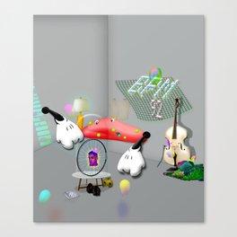 ting Canvas Print