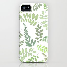 Lighter plant pattern iPhone Case