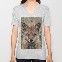 Fox II Unisex V-Neck