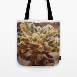 Cholla Cactus Garden XIV Tote Bag