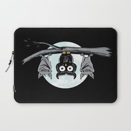 Cute Owl With Friends Laptop Sleeve