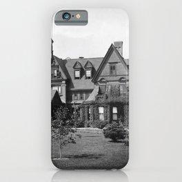 1878 Original Gilded Age Breakers Mansion, Newport, Rhode Island iPhone Case