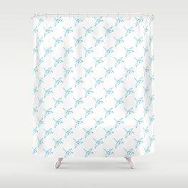 Tsuru Arasaki Shower Curtain