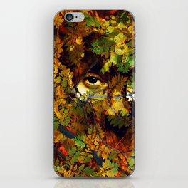 rustling in the foliage iPhone Skin