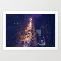 Brooklyn From Above Art Print