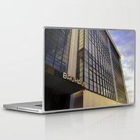bauhaus Laptop & iPad Skins featuring Bauhaus Sunset by Nat Alonso