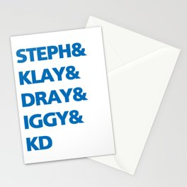 Warriors Stationery Cards