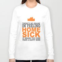 downton abbey Long Sleeve T-shirts featuring Downton Abbey (Hughes) by Park is Park