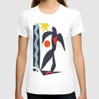 matisse T-shirts featuring inspired to Matisse (black) by Chicca Besso
