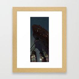 L_H Framed Art Print