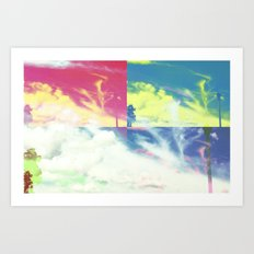 Cloud Magic Art Print