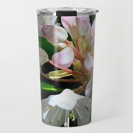 Rhododendrons in Long Island Travel Mug