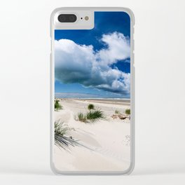 Grenen Beach Panorama Clear iPhone Case