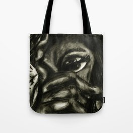 charcoal- test 1 Tote Bag