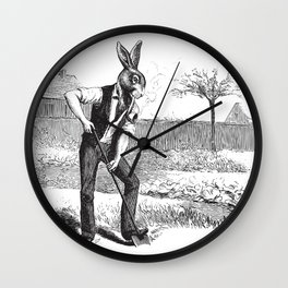 Spring Greens Wall Clock