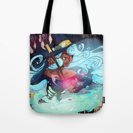 Heart's Witch Tote Bag