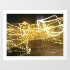 Light Photography Art Print