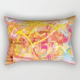 Writing on The Wall 02 Rectangular Pillow
