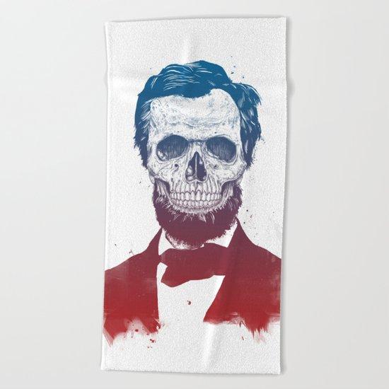 Dead Lincoln Beach Towel