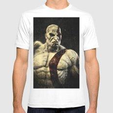 kratos Mens Fitted Tee MEDIUM White