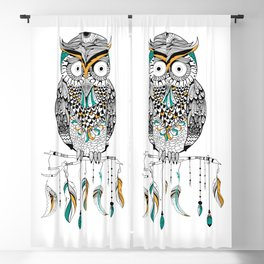 Owl Blackout Curtain