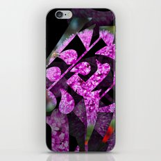 Flower (Love) iPhone & iPod Skin