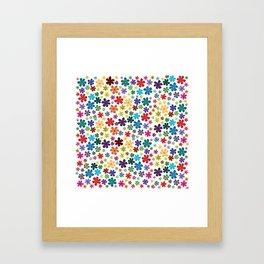 Flowers - Flowers Framed Art Print
