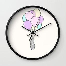 Balloons Wall Clock