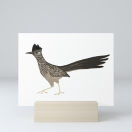 Roadrunning Roadrunner Mini Art Print