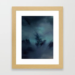 Abstract trees Framed Art Print