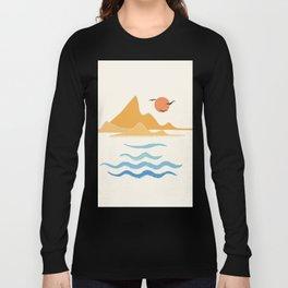 Minimalistic Summer III Long Sleeve T-shirt
