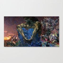 Vrubel Demon Canvas Print