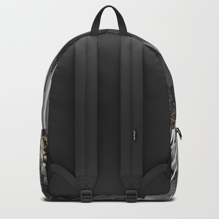 Cactus white & black Backpack