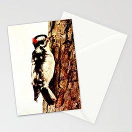 Neltje Blanchan - Bird Neighbours (1903) - Downey Woodpecker Stationery Cards