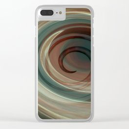 creation triptychon Clear iPhone Case