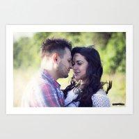Breath the Love Art Print