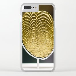 Gold Leaf Clear iPhone Case
