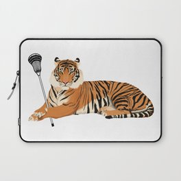Lacrosse Tiger Laptop Sleeve