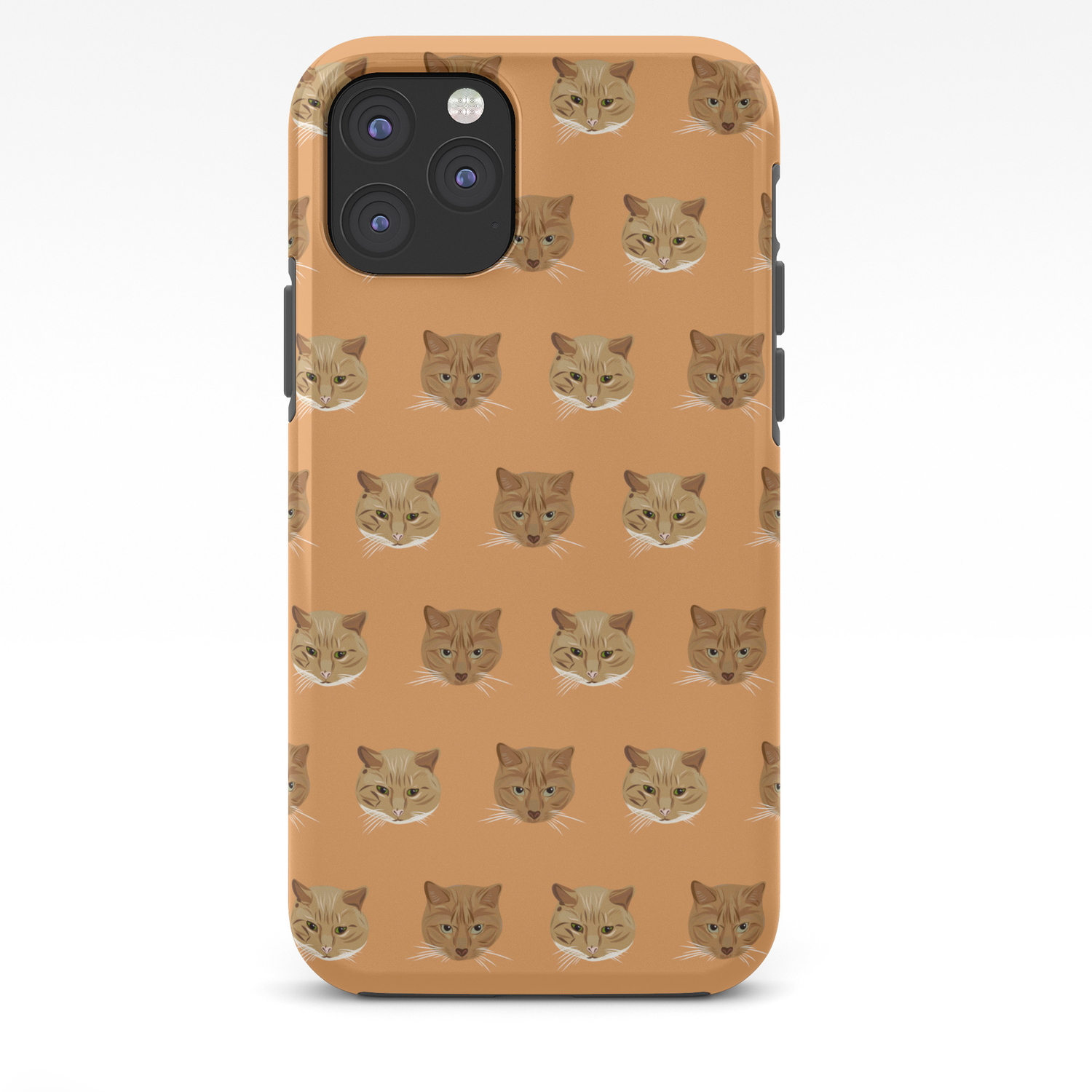 Kellie S Kitties Kitty Wallpaper Pattern For The Crazy Cat Lady In Your Life Iphone Case By Designbycheyney Society6
