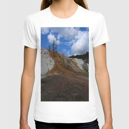 Mammoth Hot Spring Colors T-shirt