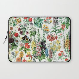 Adolphe Millot - Fleurs A - French vintage poster Laptop Sleeve