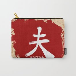 Japanese kanji - Husband Carry-All Pouch