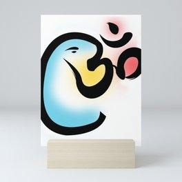 The All Encompassing Divine Om Lord Ganesha Mini Art Print