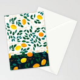 Lemon Orange Stationery Cards