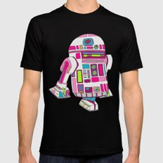 Cool Girls Like Epic Droids MEDIUM Black Mens Fitted Tee