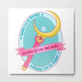Love And Justice Metal Print