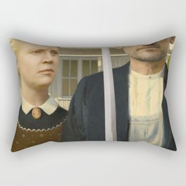 The Odd Couple Rectangular Pillow