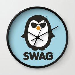 SWAG Pinguin Wall Clock