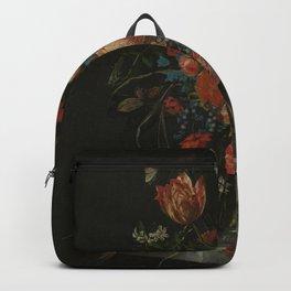Stillife with flowers Ottmar Elliger  1673 Backpack