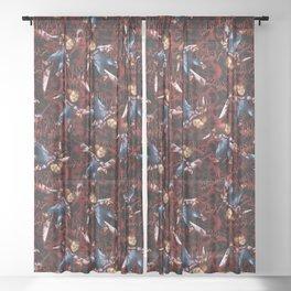 Chucky Sheer Curtain